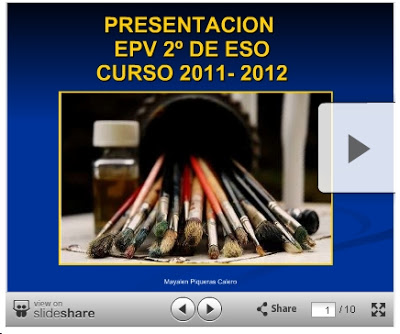 PRIMERAS CLASES. PRESENTACIONES Y DOCUMENTOS PARA EL CURSO 2011-2012
