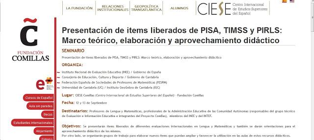 Presentación de items liberados de PISA, TIMSS y PIRLS: Marco teórico, elaboración y aprovechamiento didáctico